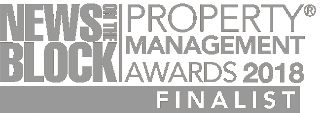 Barrett Corp and Harrington Property Management Awards Finalist